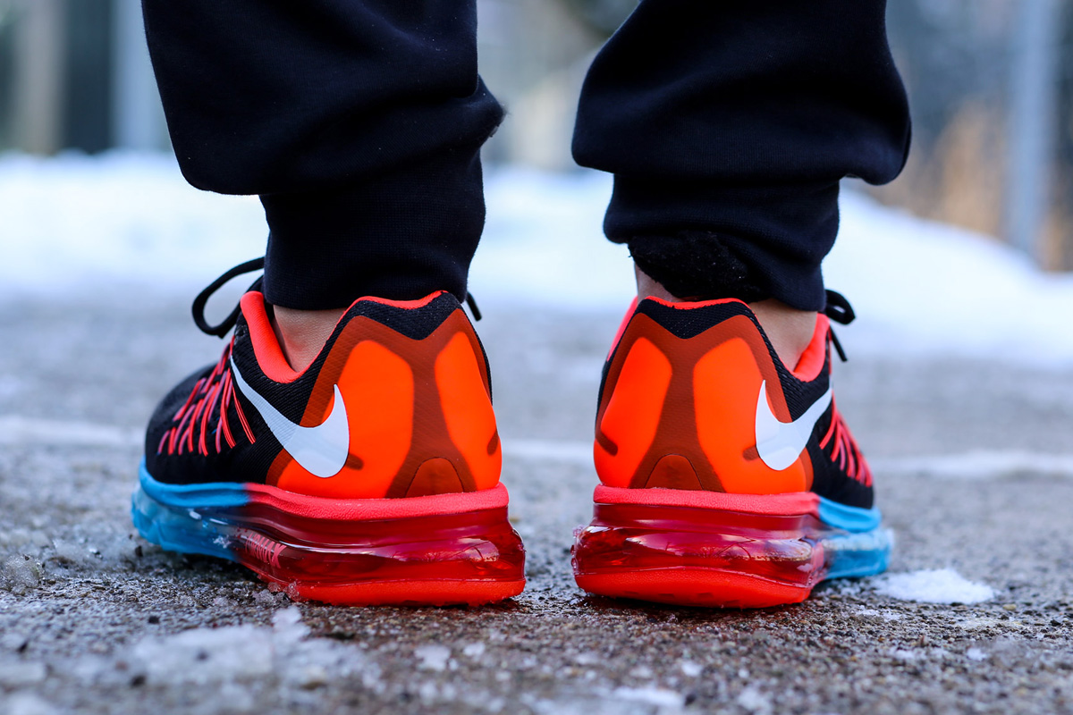 nike air max 2015 all red