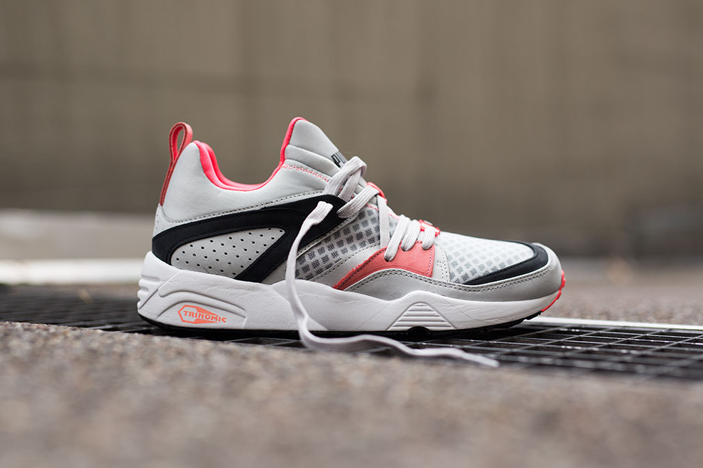 promo code 14185 635a0 PUMA Blaze of Glory Trinomic Grey Black Pink 50%OFF