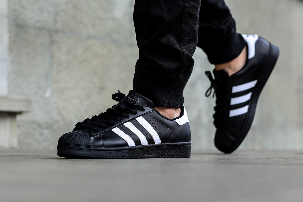 "adidas Superstar Foundation ""Core Black/White"" 