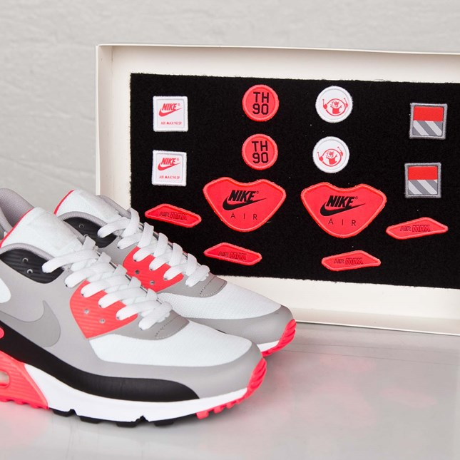 Air Max 90 Infrared Patch