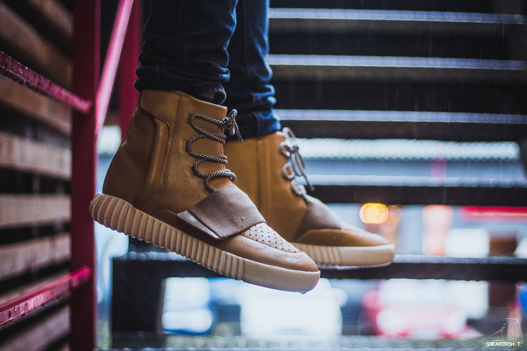 adidas Yeezy 750 Boost Tan Net Custom