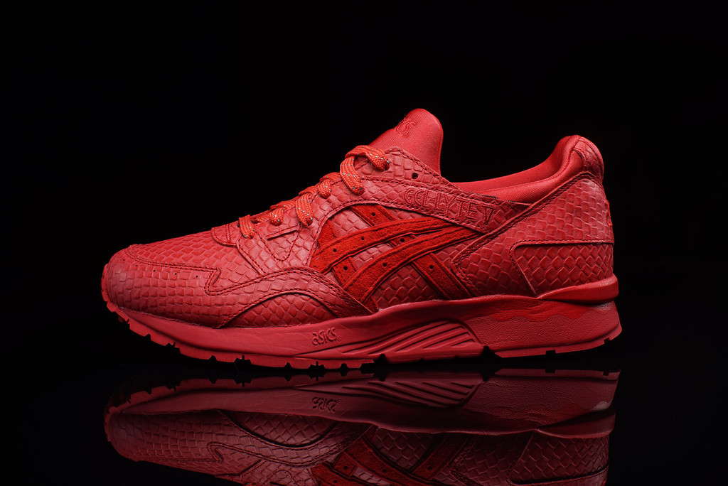asics gel lyte v rouge