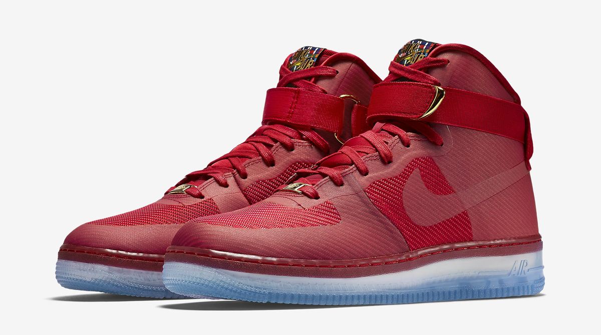 red high air force 1