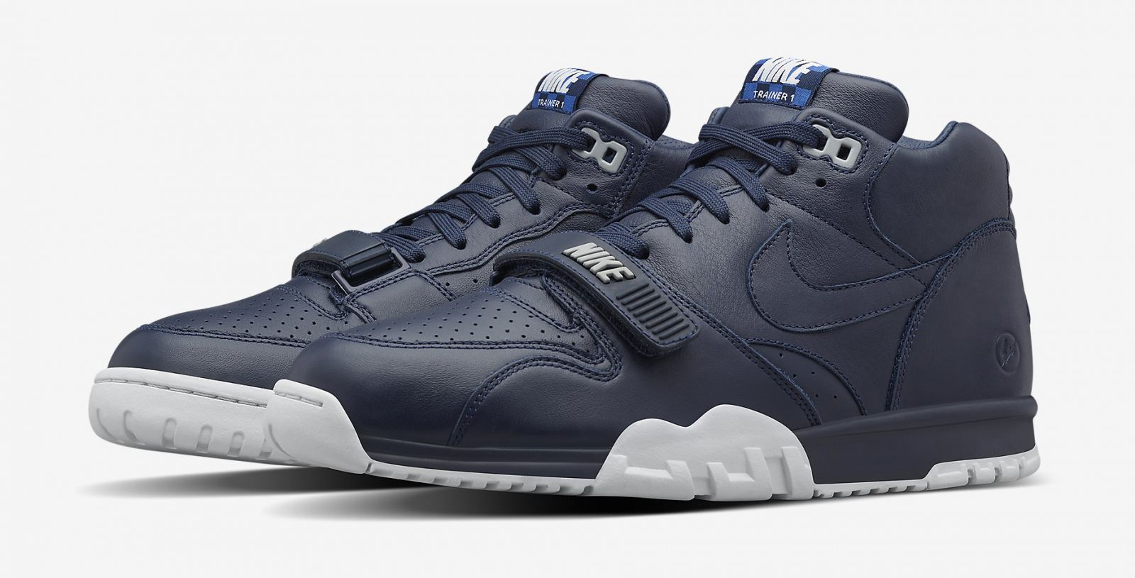 fragment design nike air trainer 1 us open sneaker bar. Black Bedroom Furniture Sets. Home Design Ideas