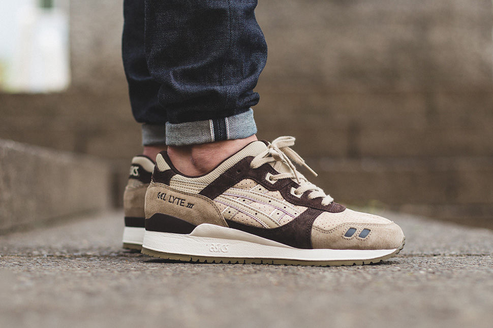 010dd69c8878 On Feet Images of the ASICS Gel Lyte III 8220 Coffee 85%OFF ...