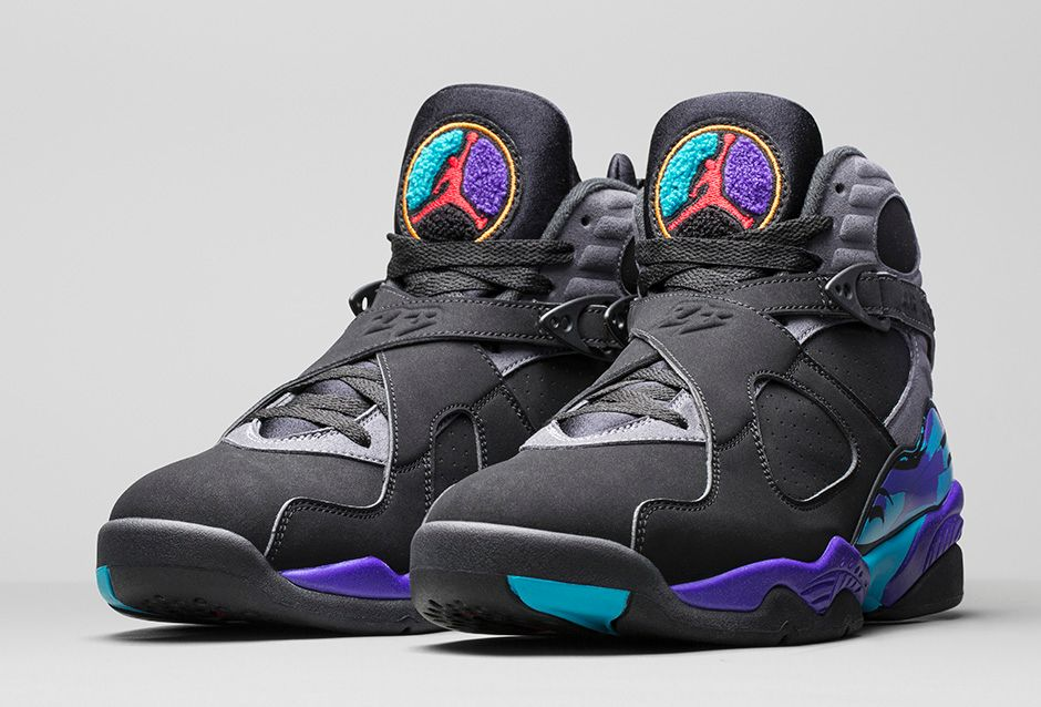 Aqua Air Jordan 8 Black Friday
