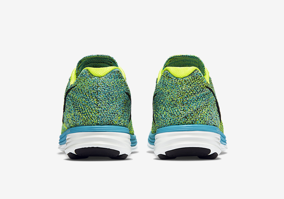 newest collection eefa5 09b0d low-cost Nike Flyknit Lunar 3 8220 Blue Lagoon