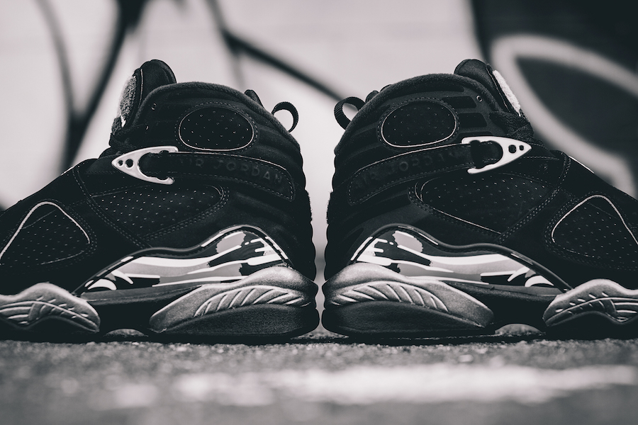 Air Jordan 8 Retro Chrome Available