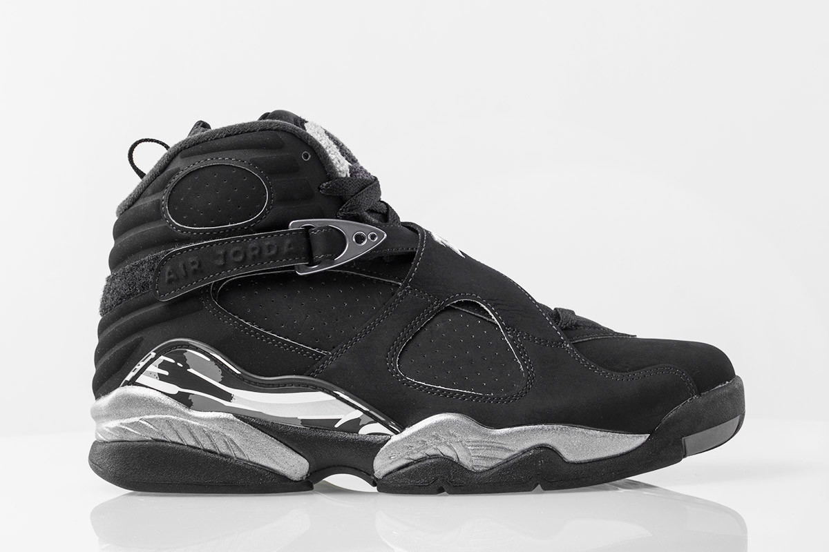 Chrome Air Jordan 8 Retro 2015