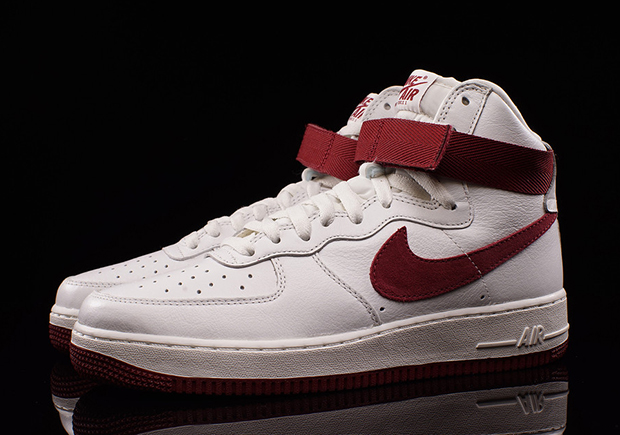 Nike Air Force 1 High Red And White