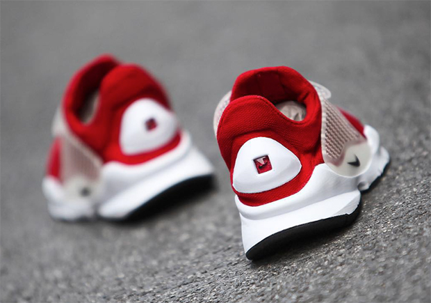 Nike Sock Dart University Red White 2016