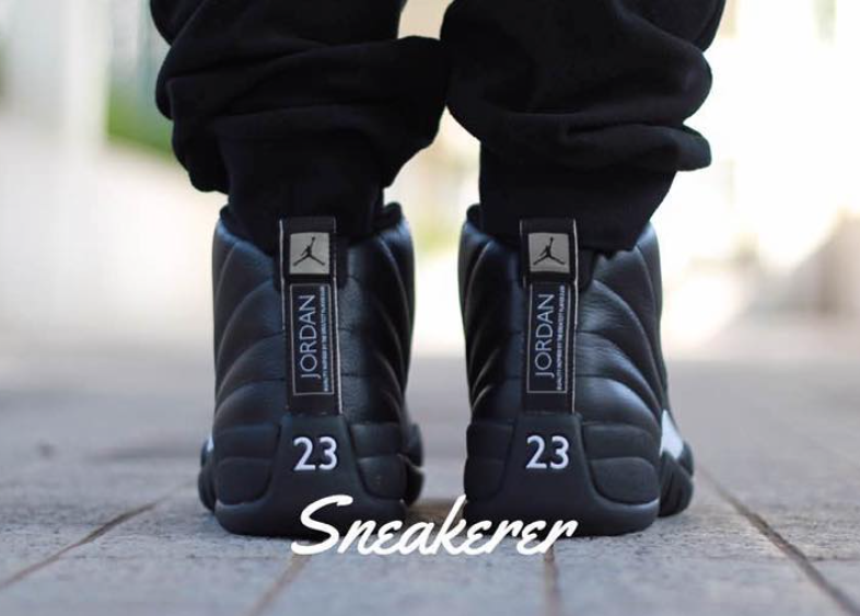 The Master Jordan 12 On Feet