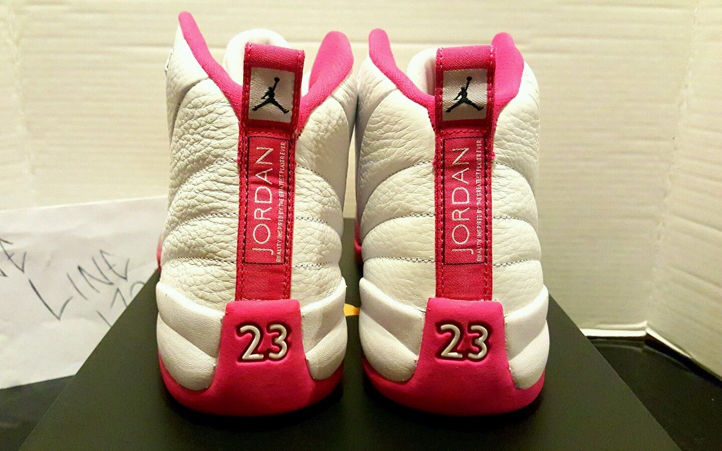 Air Jordan 12 GS White Pink 510815-109