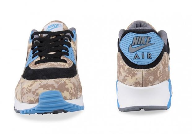 Nike Air Max 90 Digi Camo Blue Beige