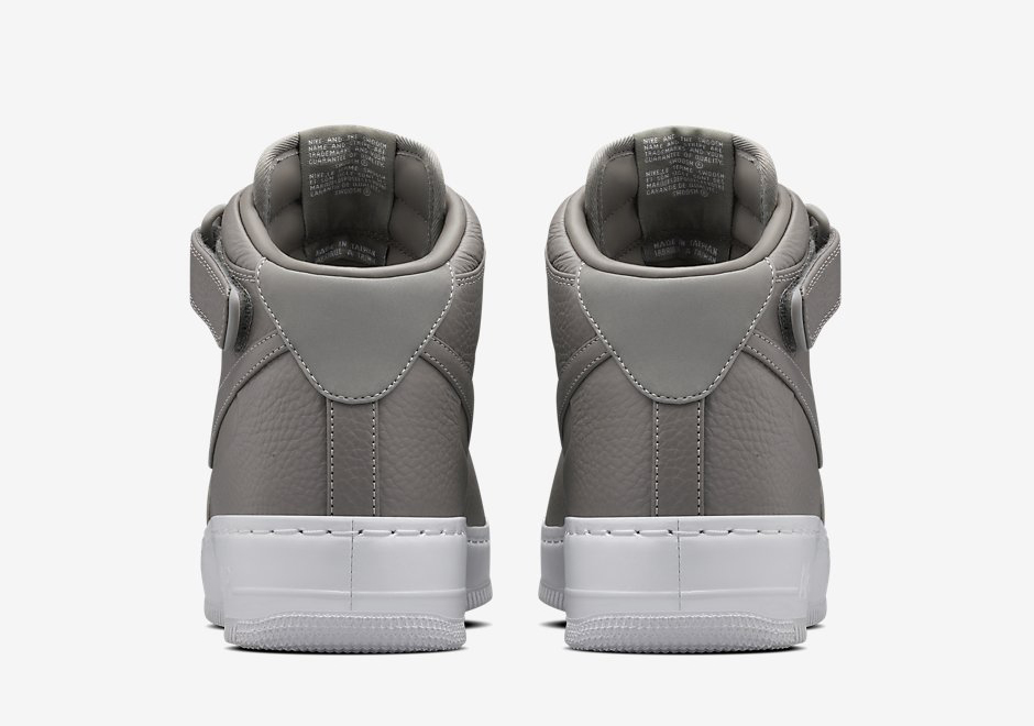 NikeLab Air Force 1 Charcoal Haze