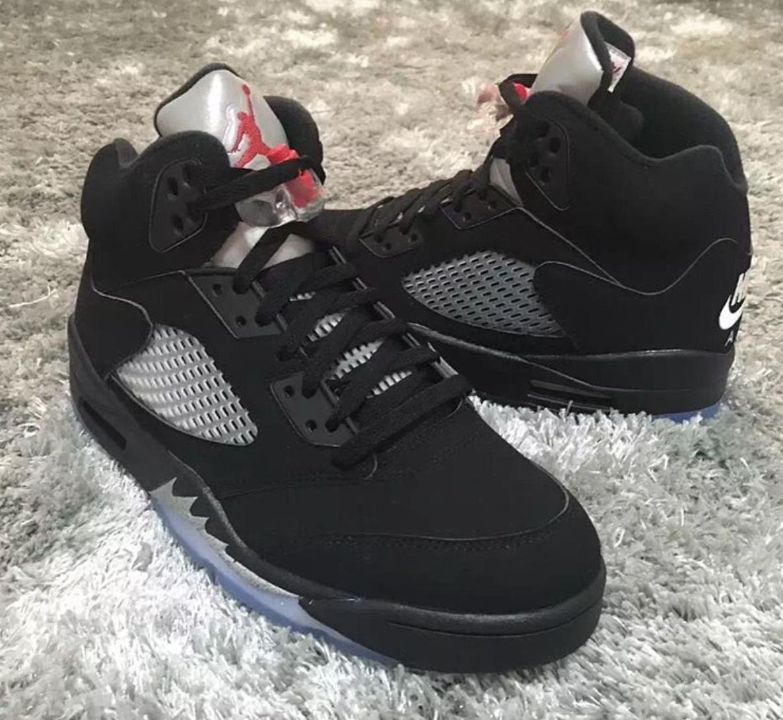 Air Jordan 5 Nike Air Black Metallic OG