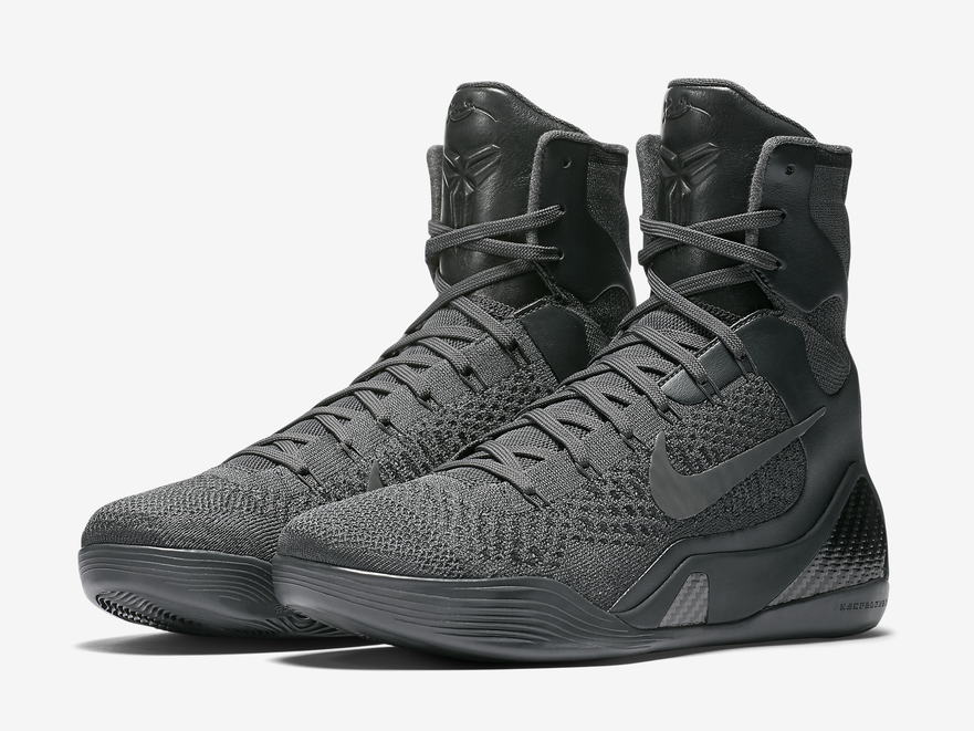 Nike Kobe 9 Elite FTB Fade to Black