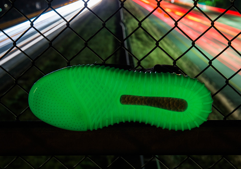 1a79a641fa489 on sale Detailed Look at the 8220 Glow in the Dark YEEZY Boost 750s ...