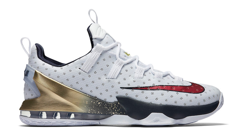 Nike LeBron 13 Low Olympic Available