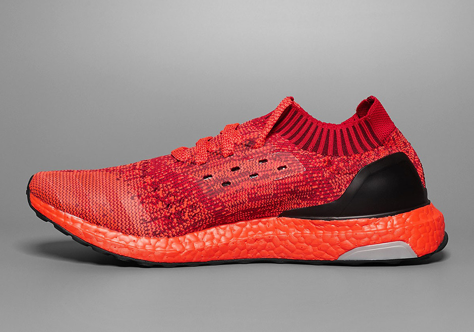 adidas Ultra Boost Uncaged Red Colored Boost