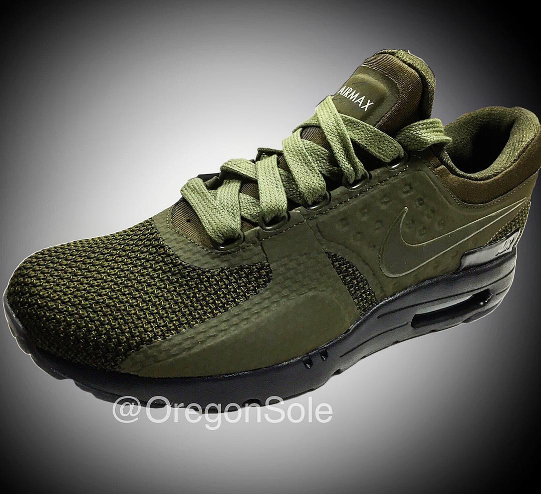 nike air max zero olive 2017 release date sneaker bar. Black Bedroom Furniture Sets. Home Design Ideas