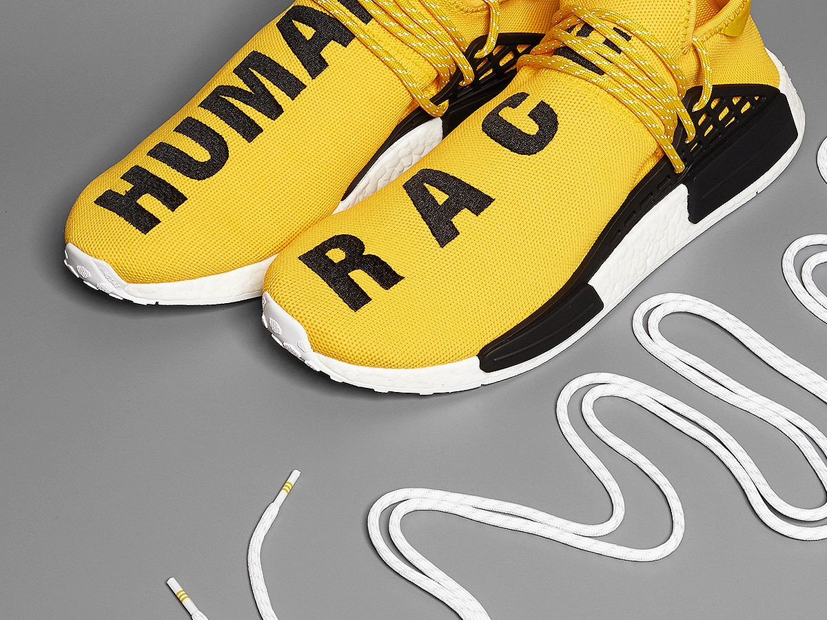 Pharrell x NMD 'Human Race' Adidas BB0616 Red/Footwear