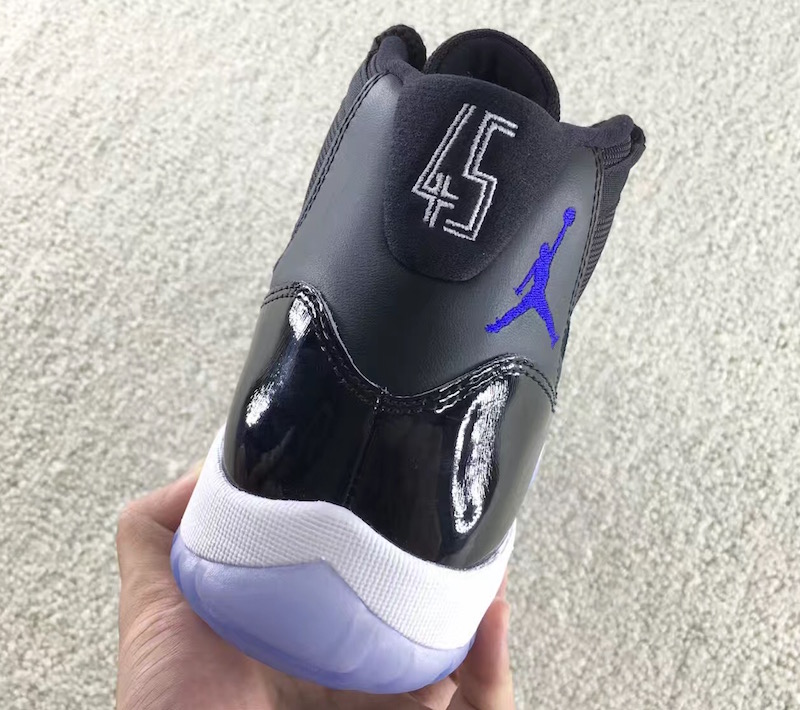 Space Jam Air Jordan 11 2016 45 Heel