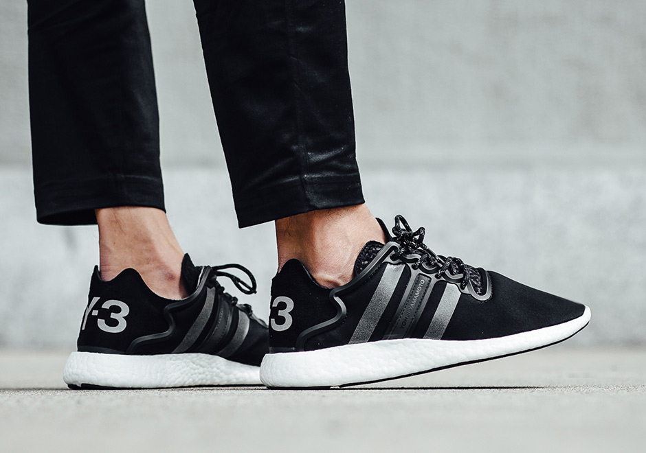 cc0da25cad9c8 high-quality adidas Y 3 Yohji Boost 8220 Core Black - s132716079 ...