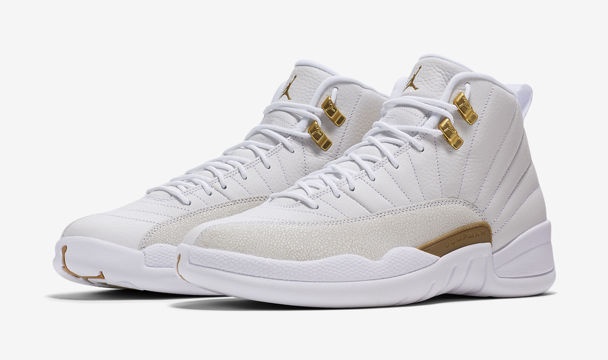 White OVO Air Jordan 12