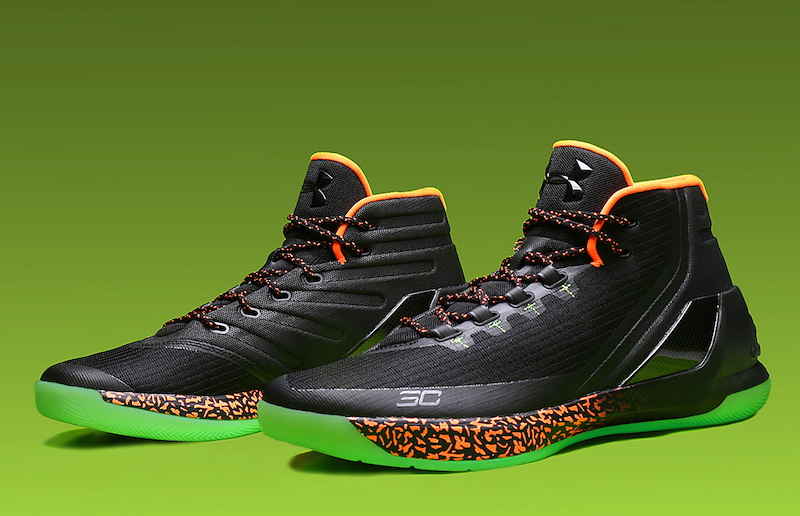 Under Armour Curry 3 Reign Water | Sole Collector