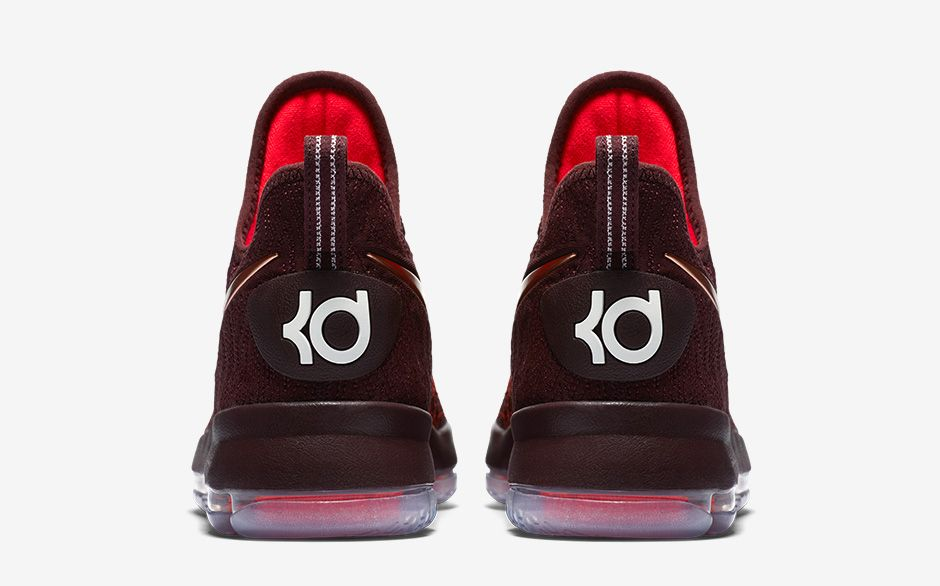 Nike KD 9 Christmas The Sauce Release Date Back Heel