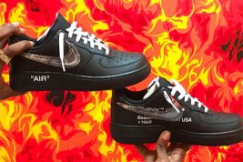 Ian Connor Shares Another Off-White x Nike Air Force 1 Low