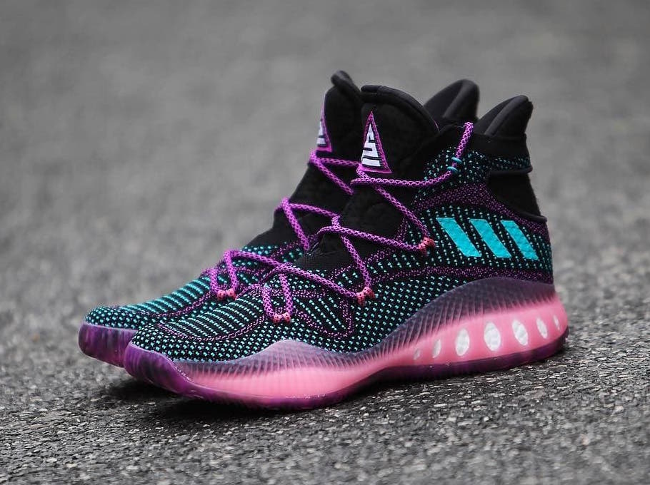 adidas Crazy Explosive Swaggy P PE Black Pink BB8338