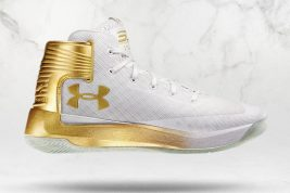 Under Armour Curry 3Zer0 White Gold