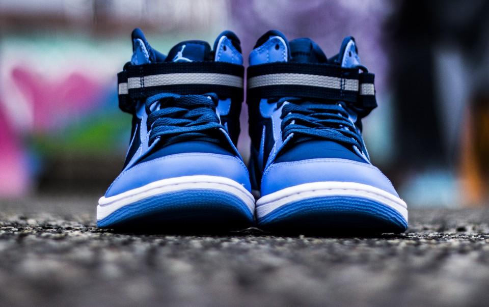Air Jordan 1 Sangle Haute Bleu