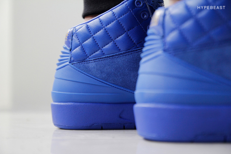 air jordan 2 quilted blue price