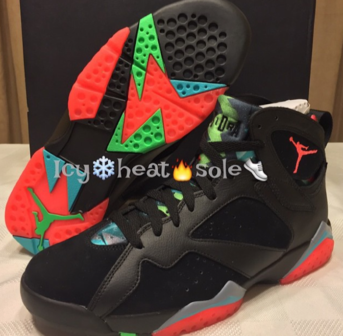 best service 7418c 537b4 Jordan 7 Marvin the Martian