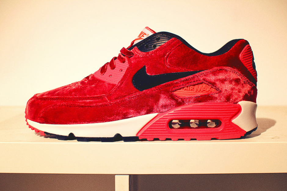 Nike Air Max 90 Infrared Red Velvet 2015