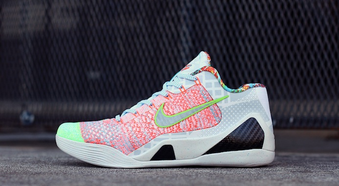 41aa20461d8 Nike What The Kobe 9 Elite Low Custom