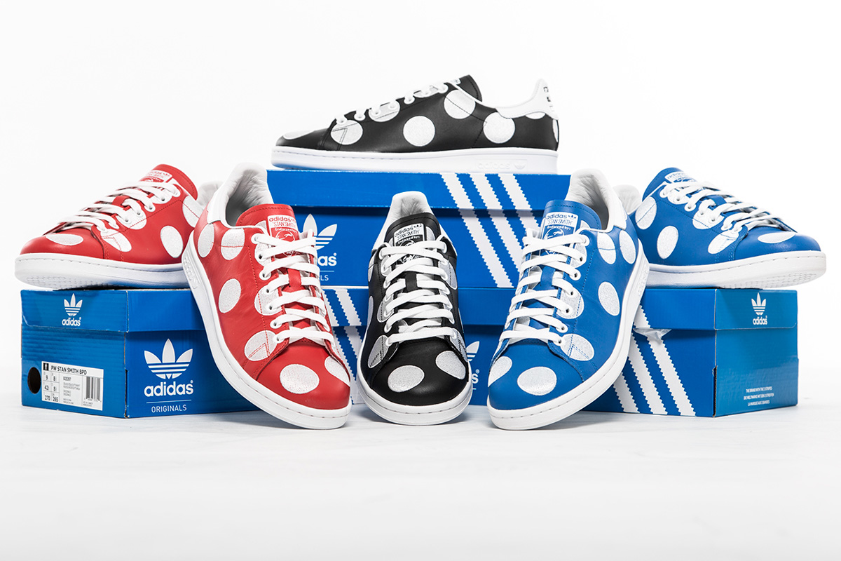"Pharrell Williams x adidas Originals Stan Smith ""Big Polka ..."