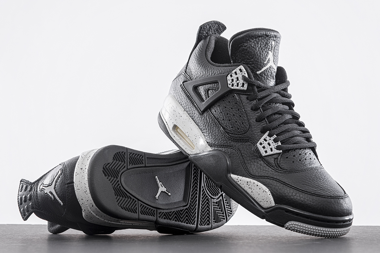 Air Jordan 4 Tech Grey Oreo 2015