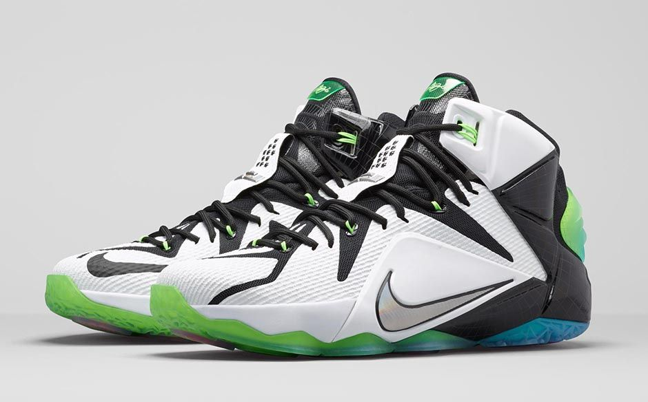 lebron nike shoes 2015 green and white nike basketball shoes