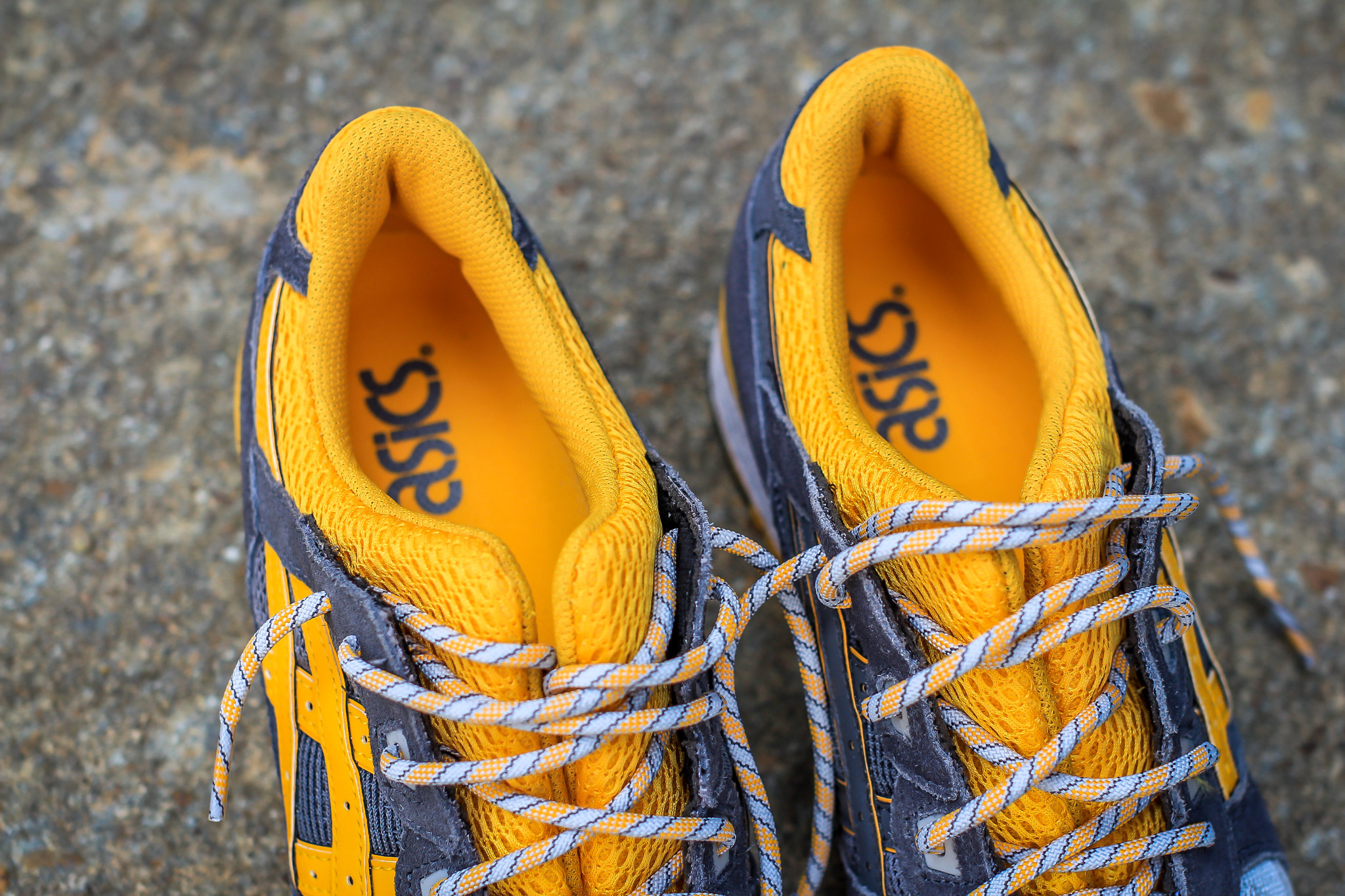 asics gel lyte iii yellow grey