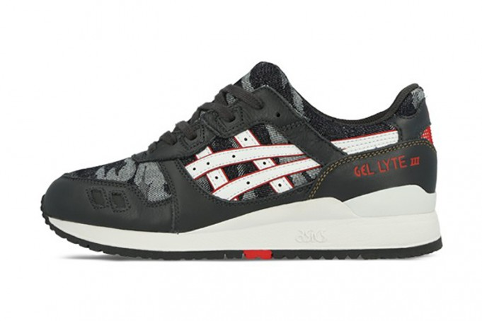 Asics Gel De Lyte Iii Zapatos - Negro / Gris Oscuro S7zWv