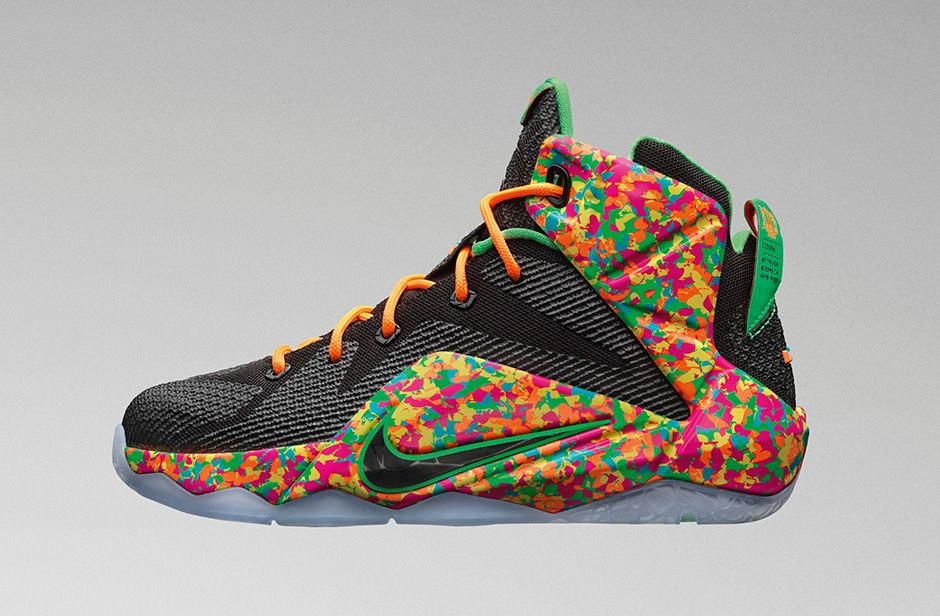 c2bbf858e31 Nike LeBron 12 GS Fruity Pebbles - Sneaker Bar Detroit