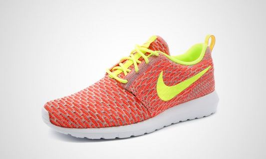 reputable site 9a20e 30b04 nike-roshe-nm-flyknit-hot-lava-volt-team-