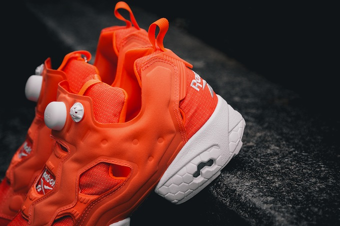 Reebok Insta Pump Fury Tech Solar Orange