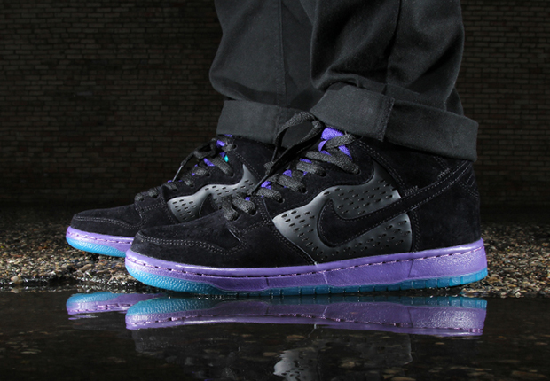 "low priced a0a45 0bdb2 Black Grape Nike SB Dunk High. Inspired by Jordan Brand and their classic Air  Jordan 5 "" ..."