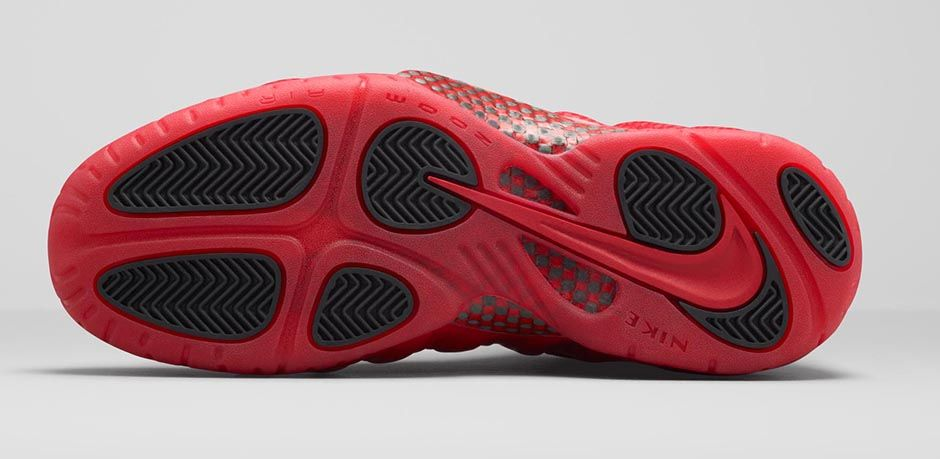 Nike Foamposite Pro Gym Red October