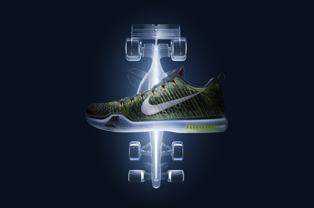 Nike Kobe X 10 Elite Low HTM Racecar